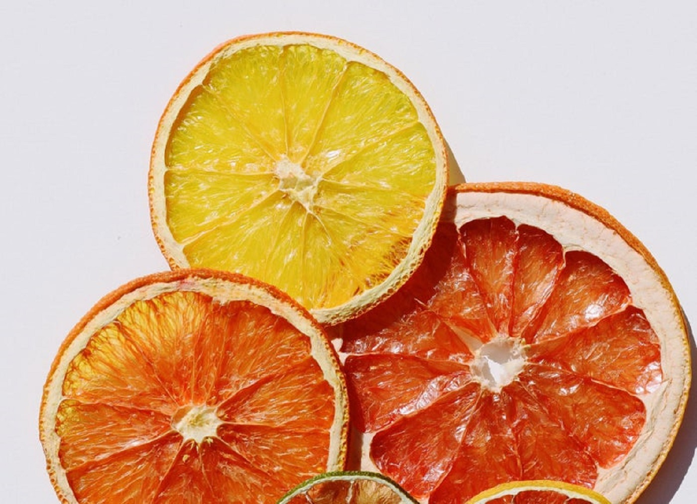 decorative citrus slices
