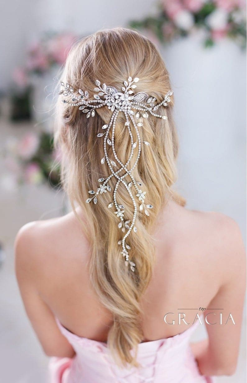 crystal hair vine